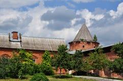 Zaraysk el Kremlin Foto de archivo libre de regalías
