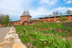Zaraysk Kremlin Royalty Free Stock Photography