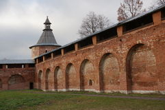 Zaraysk kremlin Royalty Free Stock Photography