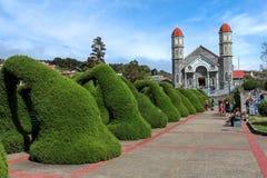 Zarcero Costa Rica Arkivbilder