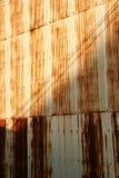 zardzewiała ściany Zdjęcie Stock