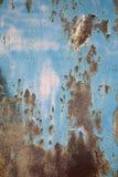 zardzewiała metalu ściany Obrazy Stock