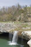 Zarecki Krov in Istria. Natural wonders in Istria - Zarecki Krov, waterfall near Pazin stock images