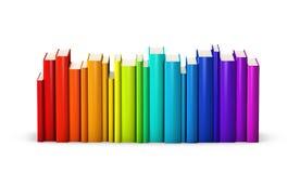 zarezerwuj kolorowego Obraz Stock