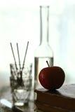 zarezerwuj starego jabłko zdjęcia royalty free