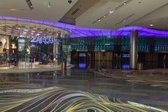 Zarkana唱腔的在拉斯维加斯, 2013年8月06日的NV展示室 库存照片