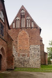 Zarrentin abbotskloster i Tyskland Arkivbild