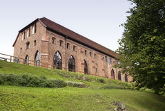 Zarrentin abbotskloster i Tyskland Arkivfoto