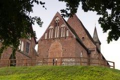 Zarrentin abbotskloster i Tyskland Royaltyfri Fotografi