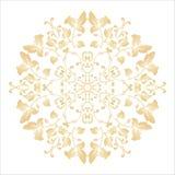 Zartes abstraktes Muster, Mandala Lizenzfreies Stockfoto