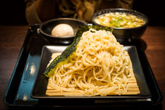 Zaru soba cold noodle traditional japanese food Stock Photo