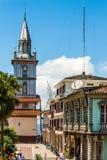 Zaruma -镇在安地斯,厄瓜多尔 免版税库存图片