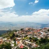 Zaruma - città dei minatori di oro nelle Ande, Ecuador Fotografia Stock Libera da Diritti