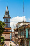 Zaruma - Town in the Andes, Ecuador Royalty Free Stock Images