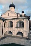 Zaryadye公园建筑学在莫斯科 圣安妮的构想的教会 库存图片