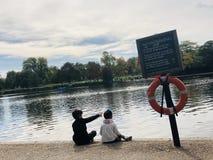 Zarysowywa future— — Hyde parka fotografia stock