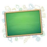 Zarządu Szkoły i edukaci symbole ilustracja wektor