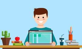 Zarządzania cyfrowego marketingowego srartup analityka projekta planistyczny wynagrodzenie na stuknięcia seo analizy ogólnospołec Zdjęcia Stock