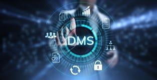 Zarządzania dokumentacją DMS systemu Cyfrowego dóbr zarządzanie fotografia stock
