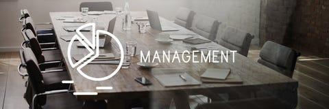 Zarządzanie biznes Kontroluje Rozdający strategii pojęcie fotografia stock