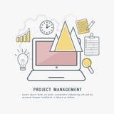 Zarządzanie Projektem, Infographic elementy ilustracji