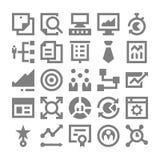 Zarządzanie Projektem Wektorowe ikony 4 Zdjęcie Stock