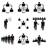 Zarządzanie przedsiębiorstwem firma. Obraz Royalty Free