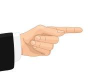 Zarządzenie gest ilustracji