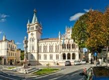 Zarząd miasta Sintra, Portugalia (Camara Miejski De Sintra) Fotografia Royalty Free