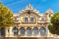 Zarząd Portu Barcelona, Hiszpania Zdjęcie Royalty Free