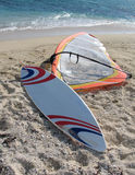 zarząd windsurf Zdjęcia Royalty Free