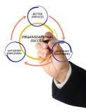 Zarządzanie diagram Obrazy Stock
