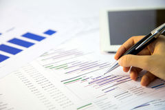 Zarządzanie projektem Obrazy Stock