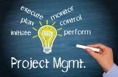 Zarządzanie Projektem Zdjęcia Stock