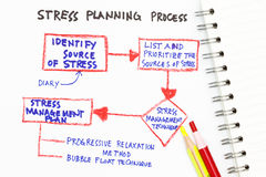 zarządzanie stres Fotografia Stock