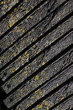zarząd textured wpływu weathersa drewna Fotografia Royalty Free