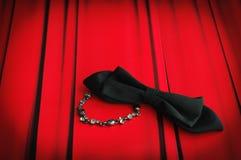 Zasłona łęku krawat i bransoletka Iść Out Obrazy Royalty Free