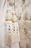 zasłona ornamenty Zdjęcia Royalty Free