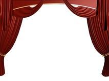 zasłona teatr ilustracji