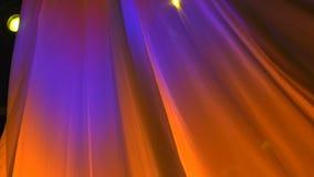 Zasłona zmienia kolory zdjęcie wideo