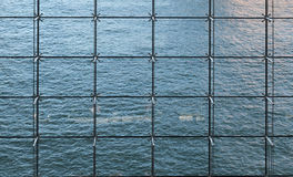 Zasłony ściana Zdjęcia Stock