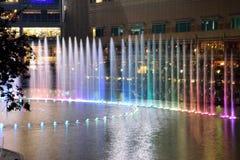 Zasłony fontanna obraz stock