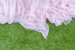 Zasłony tło, zasłony tło w ślubnej ceremonii Zdjęcia Royalty Free