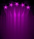 Zasłona vip Zdjęcie Royalty Free