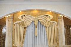 Zasłony klasyczne Fotografia Royalty Free