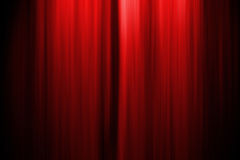 zasłony sceny do teatru Obraz Royalty Free