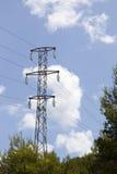 Zasilania elektrycznego wierza Fotografia Stock