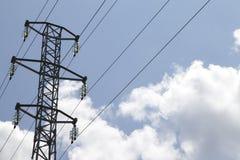 Zasilania elektrycznego wierza Obrazy Stock