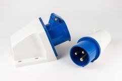 Zasilanie elektryczne prymka z nasadką Fotografia Royalty Free