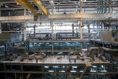 Zasilanie elektryczne stacja, inside Zdjęcia Stock